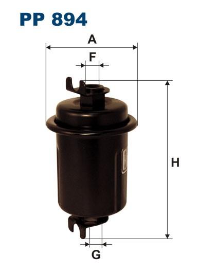 Filtr paliwa PP 894 [PP894] FILTRON
