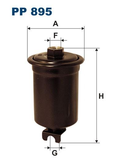 Filtr paliwa PP 895 [PP895] FILTRON