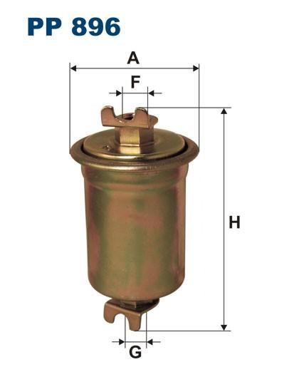 Filtr paliwa PP 896 [PP896] FILTRON