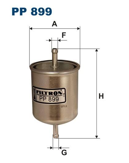 Filtr paliwa PP 899 [PP899] FILTRON