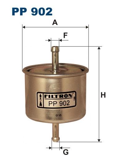 Filtr paliwa PP 902 [PP902] FILTRON