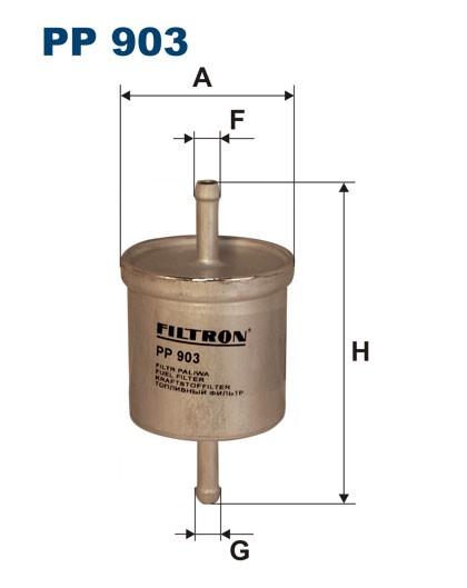 Filtr paliwa PP 903 [PP903] FILTRON