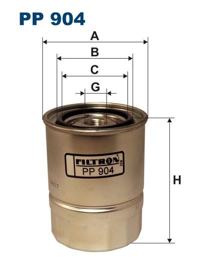 Filtr paliwa PP 904 [PP904] FILTRON