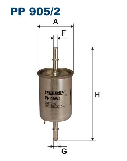 Filtr paliwa PP 905/2 [PP9052] FILTRON