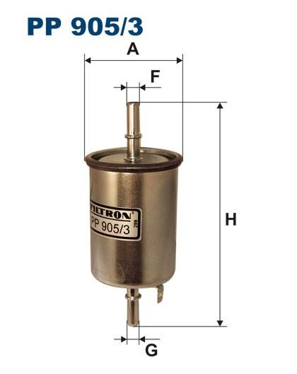 Filtr paliwa PP 905/3 [PP9053] FILTRON