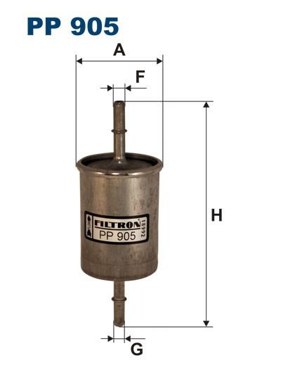 Filtr paliwa PP 905 [PP905] FILTRON