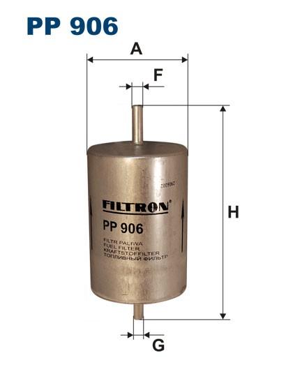 Filtr paliwa PP 906 [PP906] FILTRON