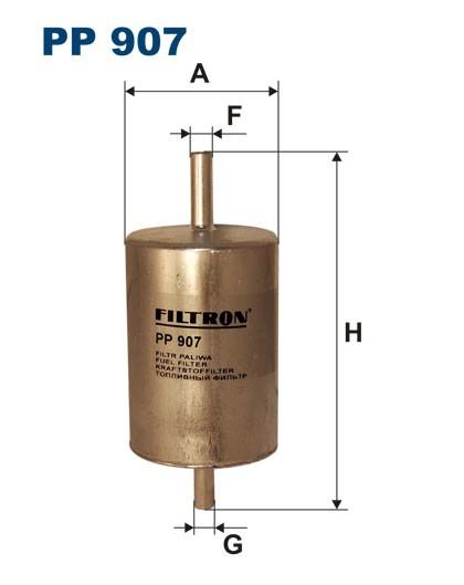 Filtr paliwa PP 907 [PP907] FILTRON