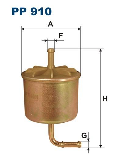 Filtr paliwa PP 910 [PP910] FILTRON