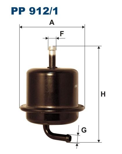 Filtr paliwa PP 912/1 [PP9121] FILTRON