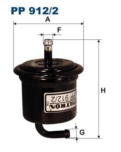 Filtr paliwa PP 912/2 [PP9122] FILTRON