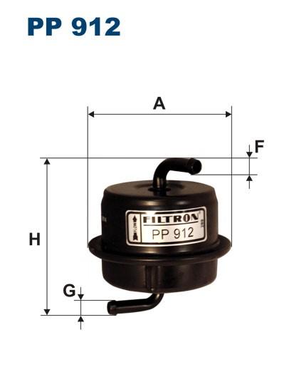 Filtr paliwa PP 912 [PP912] FILTRON
