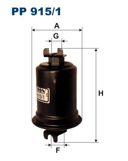 Filtr paliwa PP 915/1 [PP9151] FILTRON