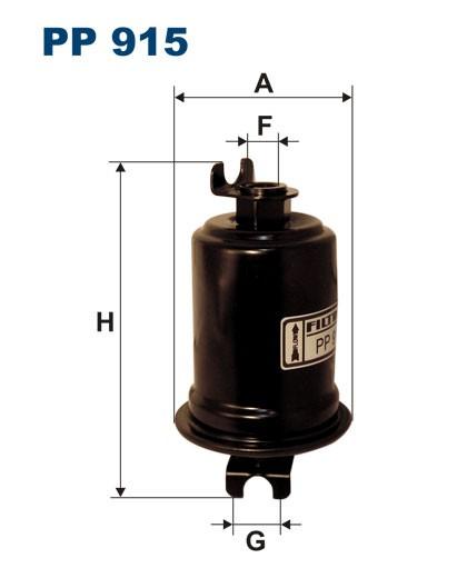 Filtr paliwa PP 915 [PP915] FILTRON