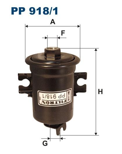 Filtr paliwa PP 918/1 [PP9181] FILTRON