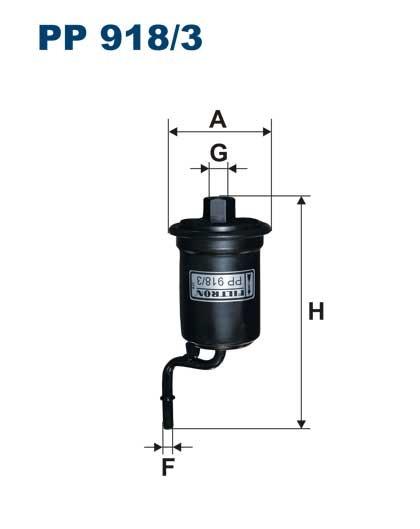 Filtr paliwa PP 918/3 [PP9183] FILTRON
