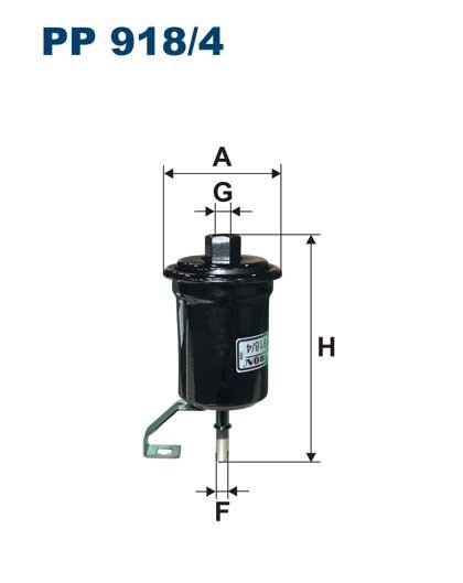 Filtr paliwa PP 918/4 [PP9184] FILTRON