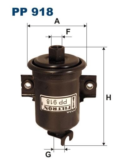 Filtr paliwa PP 918 [PP918] FILTRON