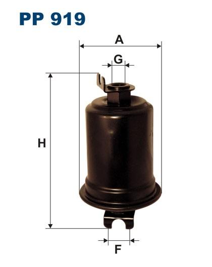 Filtr paliwa PP 919 [PP919] FILTRON