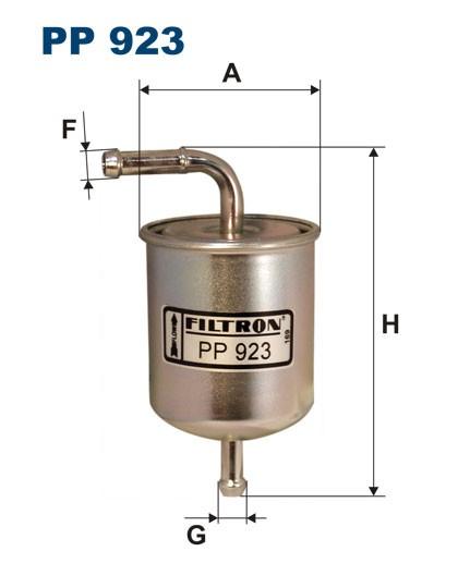 Filtr paliwa PP 923 [PP923] FILTRON