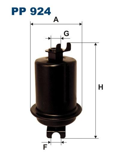 Filtr paliwa PP 924 [PP924] FILTRON