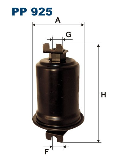 Filtr paliwa PP 925 [PP925] FILTRON
