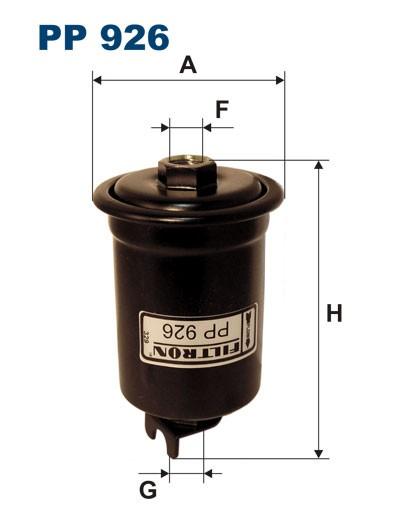 Filtr paliwa PP 926 [PP926] FILTRON