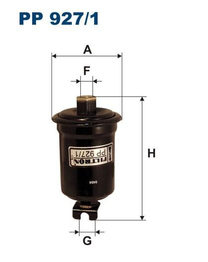 Filtr paliwa PP 927/1 [PP9271] FILTRON
