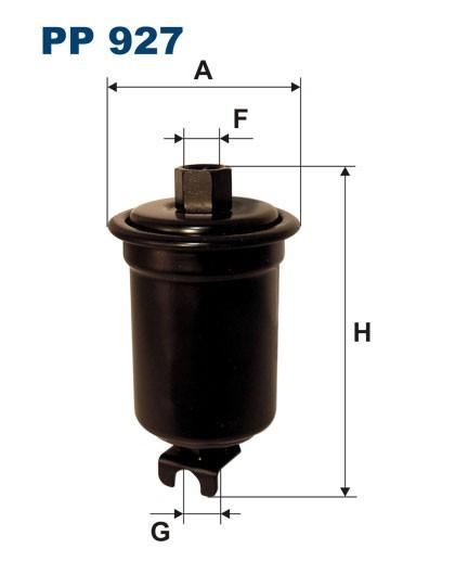 Filtr paliwa PP 927 [PP927] FILTRON