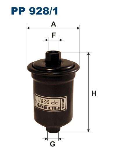 Filtr paliwa PP 928/1 [PP9281] FILTRON