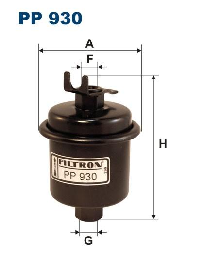 Filtr paliwa PP 930 [PP930] FILTRON