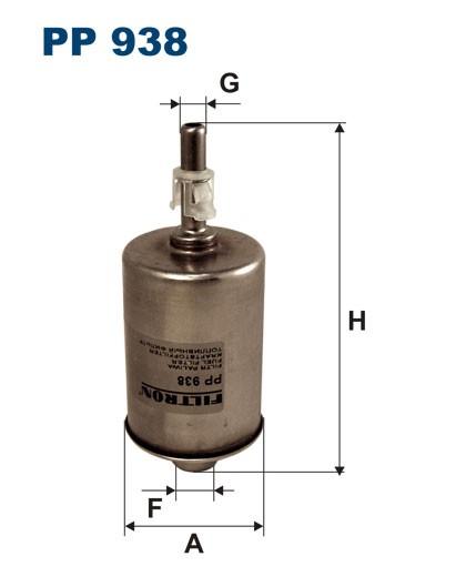 Filtr paliwa PP 938 [PP938] FILTRON