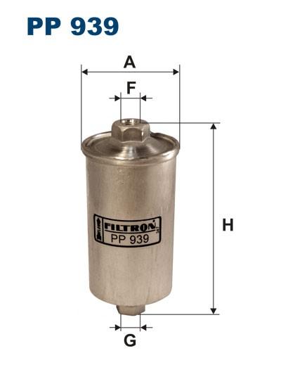 Filtr paliwa PP 939 [PP939] FILTRON