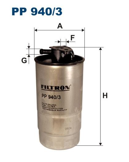 Filtr paliwa PP 940/3 [PP9403] FILTRON