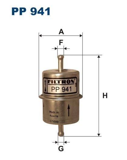 Filtr paliwa PP 941 [PP941] FILTRON