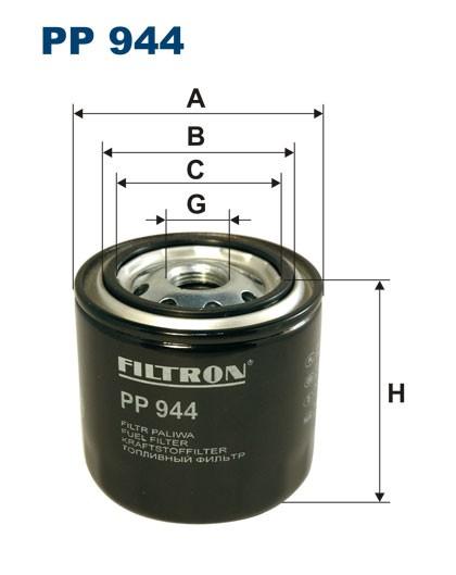 Filtr paliwa PP 944 [PP944] FILTRON