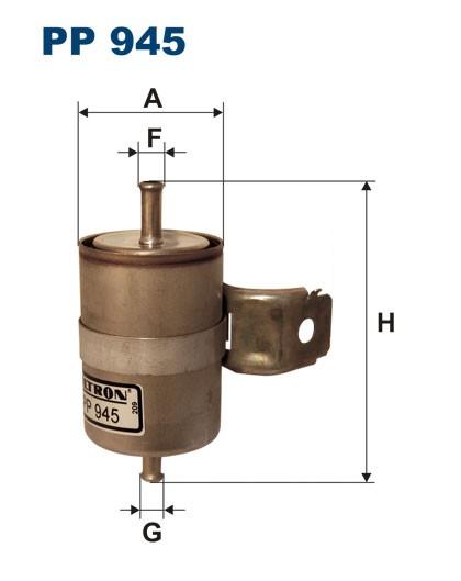 Filtr paliwa PP 945 [PP945] FILTRON