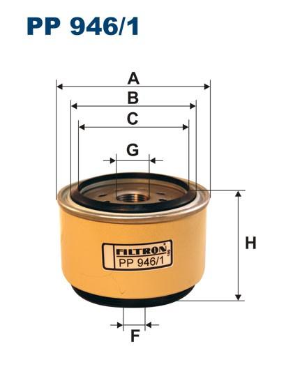 Filtr paliwa PP 946/1 [PP9461] FILTRON