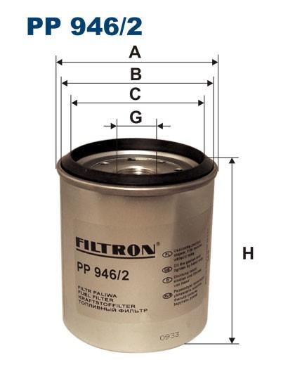 Filtr paliwa PP 946/2 [PP9462] FILTRON
