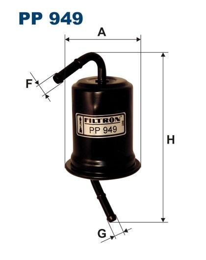 Filtr paliwa PP 949 [PP949] FILTRON
