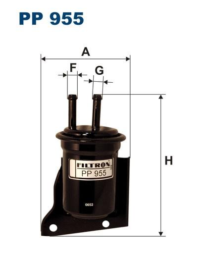 Filtr paliwa PP 955 [PP955] FILTRON
