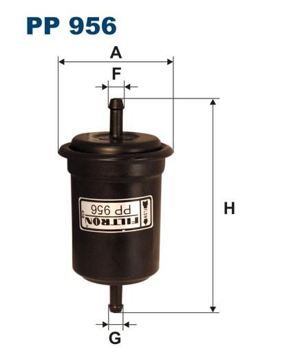 Filtr paliwa PP 956 [PP956] FILTRON