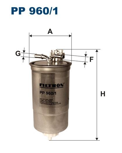 Filtr paliwa PP 960/1 [PP9601] FILTRON