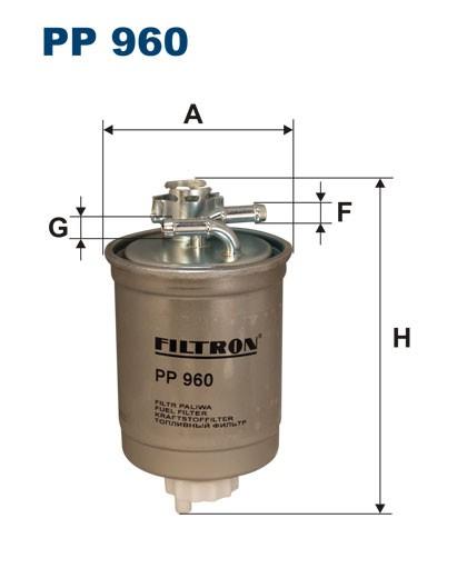 Filtr paliwa PP 960 [PP960] FILTRON
