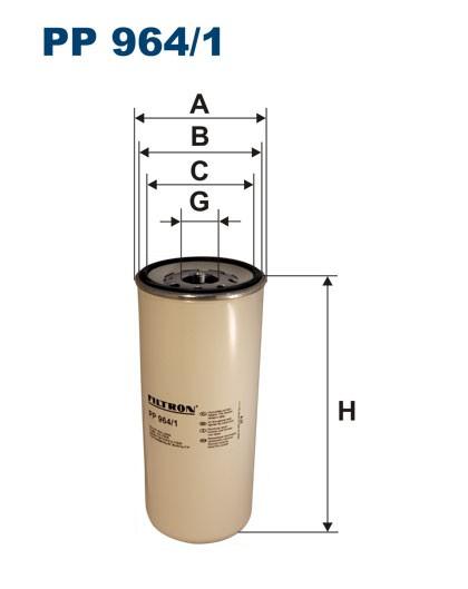 Filtr paliwa PP 964/1 [PP9641] FILTRON