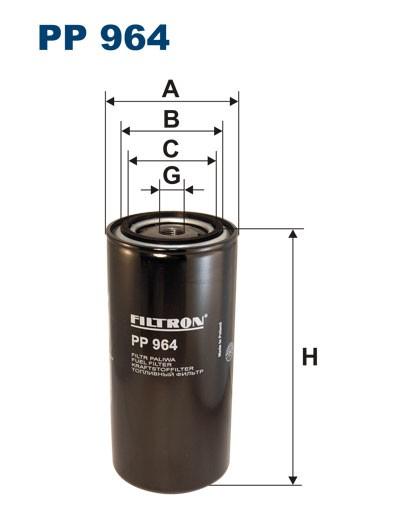 Filtr paliwa PP 964 [PP964] FILTRON