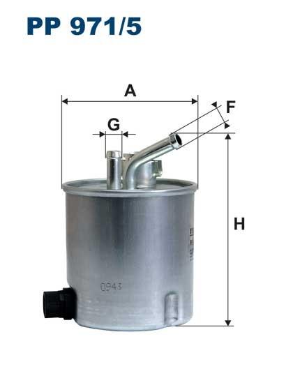 Filtr paliwa PP 971/5 [PP9715] FILTRON