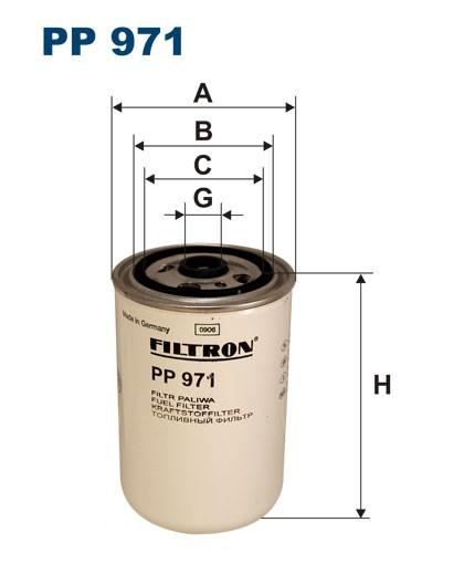Filtr paliwa PP 971 [PP971] FILTRON