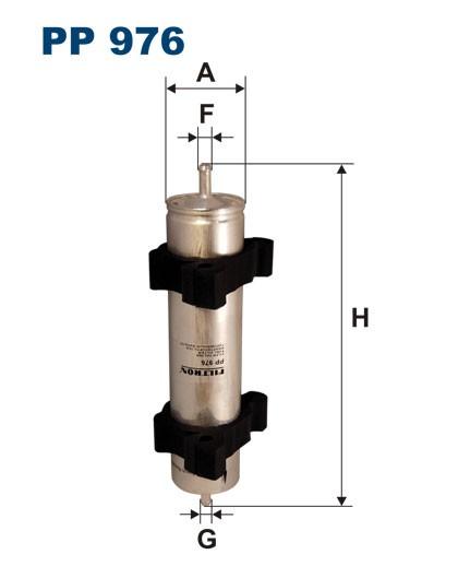 Filtr paliwa PP 976 [PP976] FILTRON