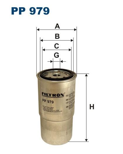 Filtr paliwa PP 979 [PP979] FILTRON